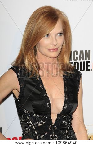 LOS ANGELES - DEC 12:  Marg Helgenberger at the 27th American Cinematheque Award at the Beverly Hilton Hotel on December 12, 2013 in Beverly Hills, CA