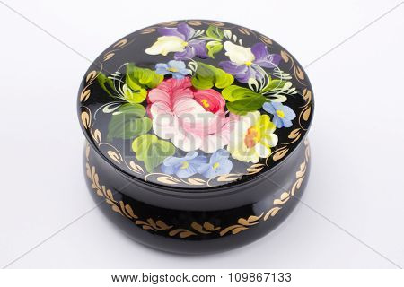 Ukrainian handmade jewellery box