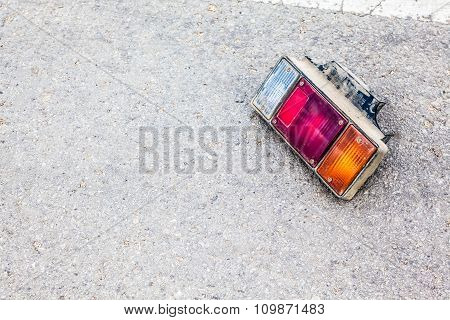Taillight On The Ground