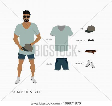 set menswear summer style