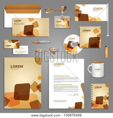Creative Stationery Template Design