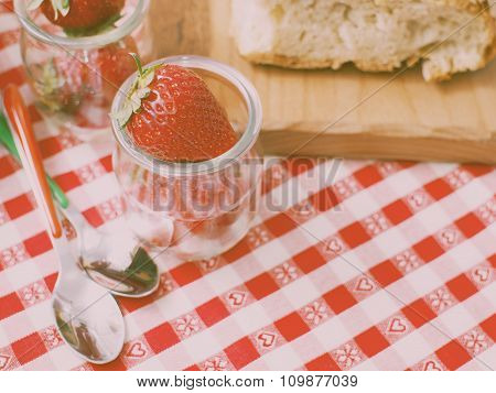 Strawberries to eat