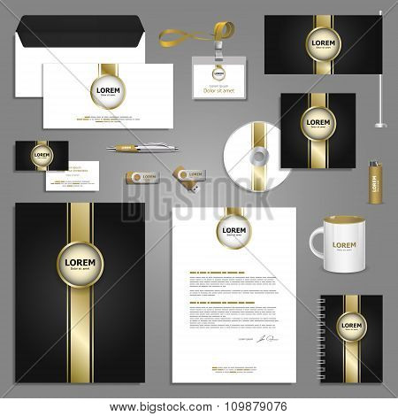 Classic Stationery Template Design
