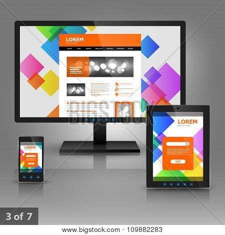 Template Design For Gadgets
