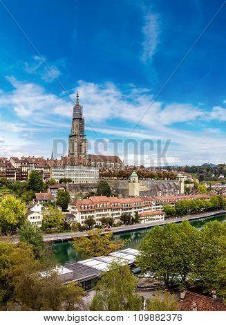 Bern And Berner Munster Cathedral