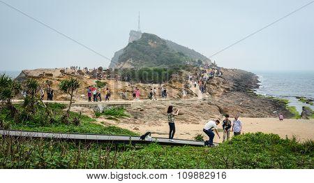 Rock Landscape Of Yehliu Geopark