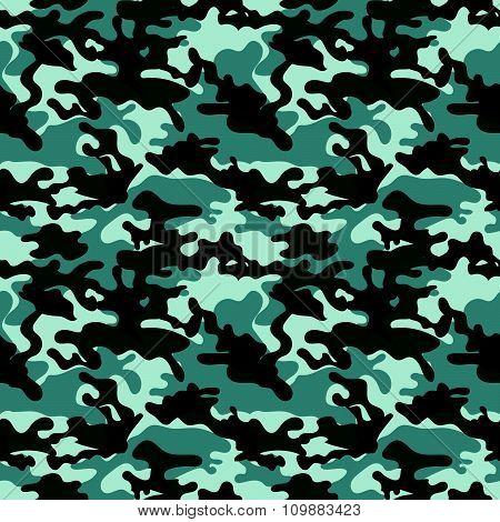 Seamless Set Of Camouflage Pattern