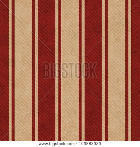 Red And Beige Striped Tile Pattern Repeat Background