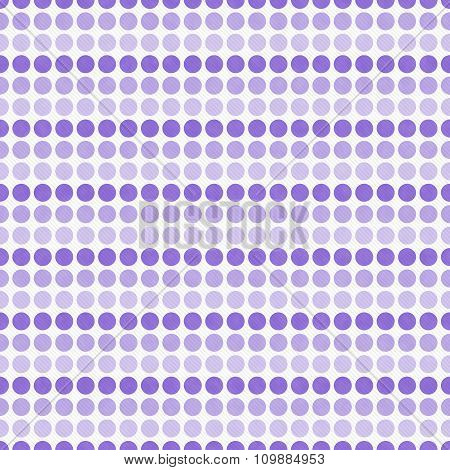 Purple And White Polka Dot  Abstract Design Tile Pattern Repeat Background