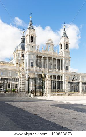 Almudena Royal Cathedral Madrid, Spain
