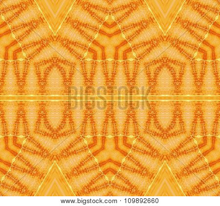 Seamless pattern yellow orange brown