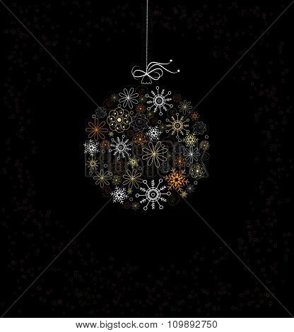 Christmas  Decoration With Bauble