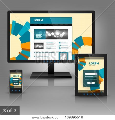 Application Template Design For Gadgets