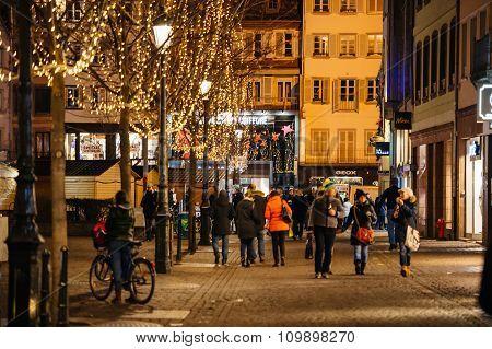 Place Kleber Christmas Decorations