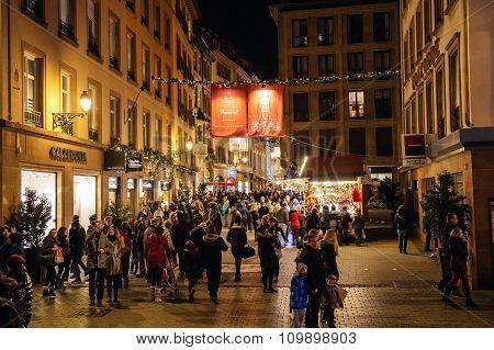 Rue Des Hallebardes Christmas Market