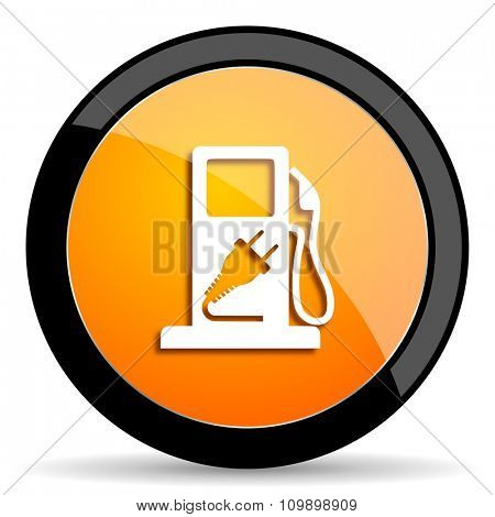 fuel orange icon