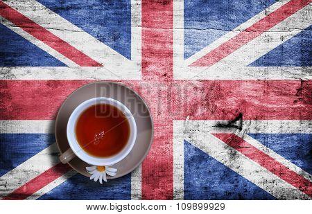 Camomile Tea Closeup