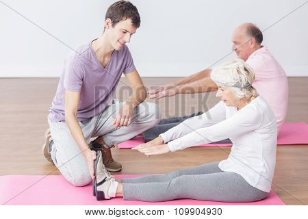 Elderly People And Sport Activity