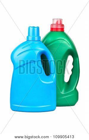 Bottle With Gel Washing