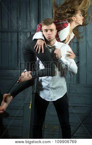Young Stylish Couple