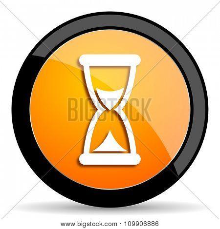 time orange icon