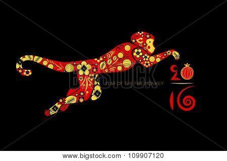 Oriental Horoscope, Year Of The Monkey