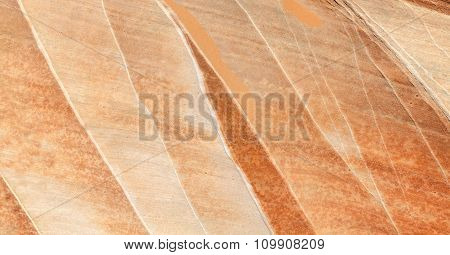 Surface Of A Rock With Mineral Veins, Background Or Texture.