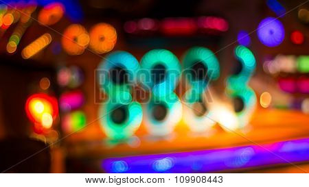 Blurred Image Of Colorful Festive Lights That Can Be Used As Background