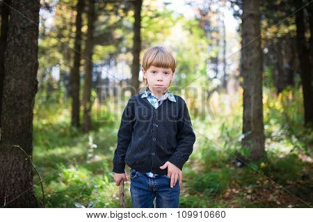 The Boy In The Woods.