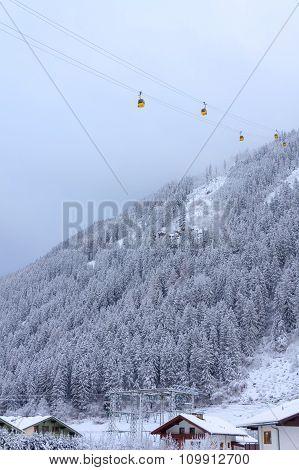 Gondola in the Fog.