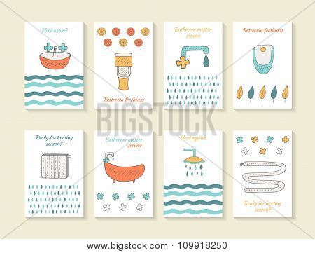 Bathroom cards