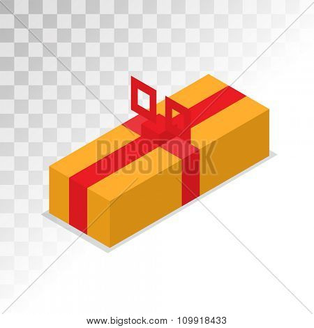 Colorful 3d gift boxes, bows and ribbons vector set. Gift boxes vector illustration. Vector Christmas gift box. Christmas box isolated on white. Christmas, birthday gift box set. Holiday gift box icon