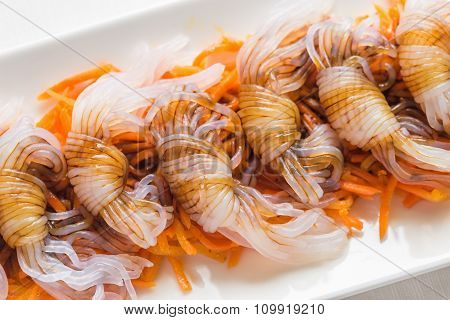 Shirataki Noodles With Soy Sauce
