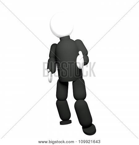 Black Dressed Puppet