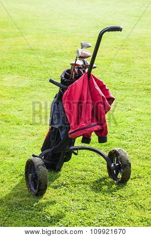 Black Golf Bag