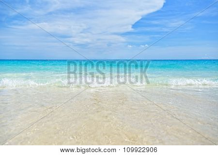 Sea And Beach Background