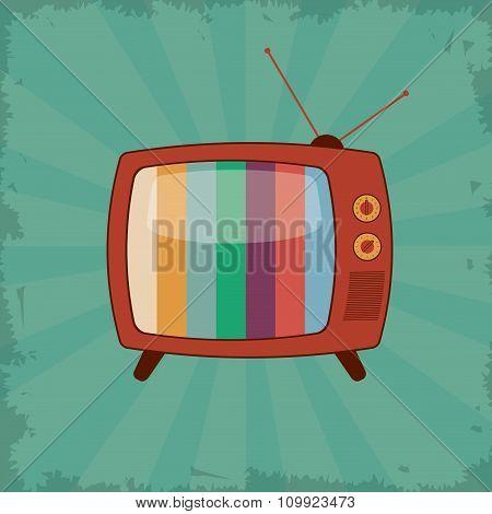 Retro television design