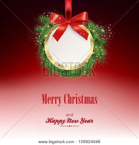 Greeting New Year Card