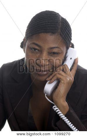 Customer Service Represenatative Beautiful With Attitude On Phon