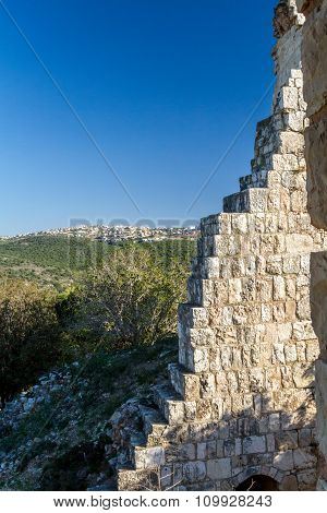 The ruins of Yehiam Fortress, Israel