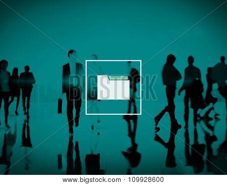 Folder Storage Files Organization Document Data Concept