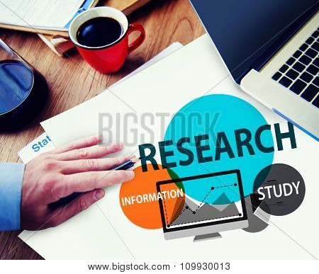 Research Search Searching Information Study Knowledge Concept