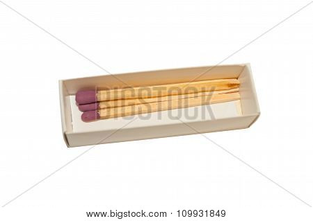 Several Matches In A Box