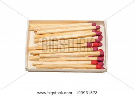 Matches With Pink Heads