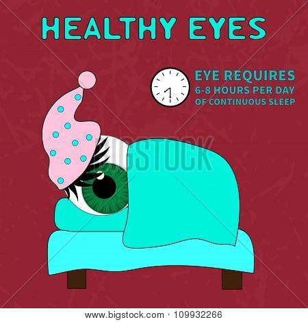 The importance of proper rest for good vision