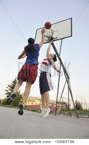 Woman Basketball