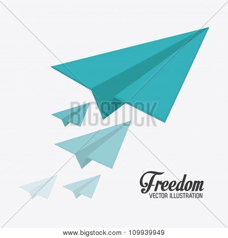 Freedom icons design