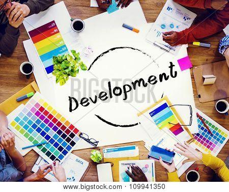 Development Progress Vision Improvement Growth Concept