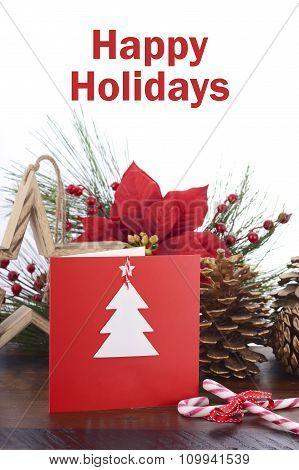 Handmade Christmas Greeting Card