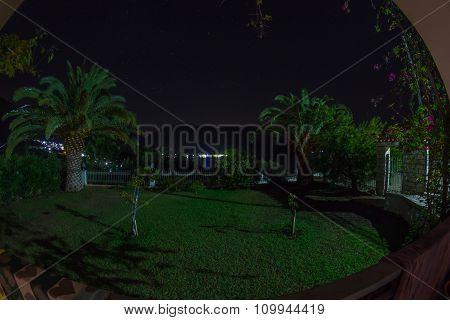 Grecce Bay Night